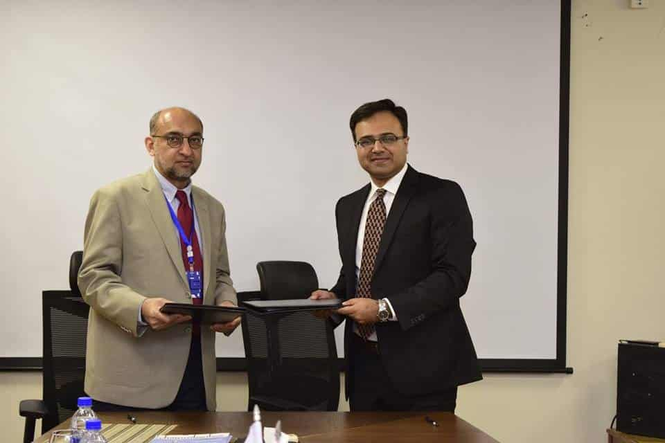 Agreement Signing Ceremony was held between Sybrid Private Limited & Shifa International Hospital
