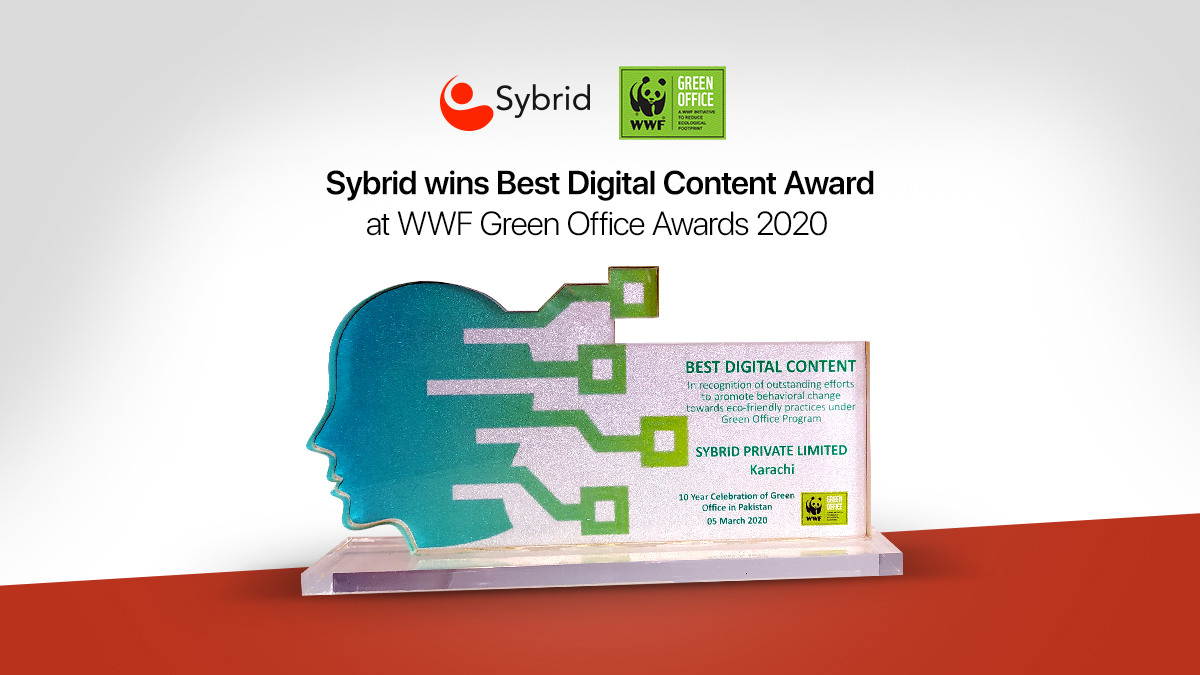 Sybrid Wins Best Digital Content Award at WWF Green Office Awards 2020