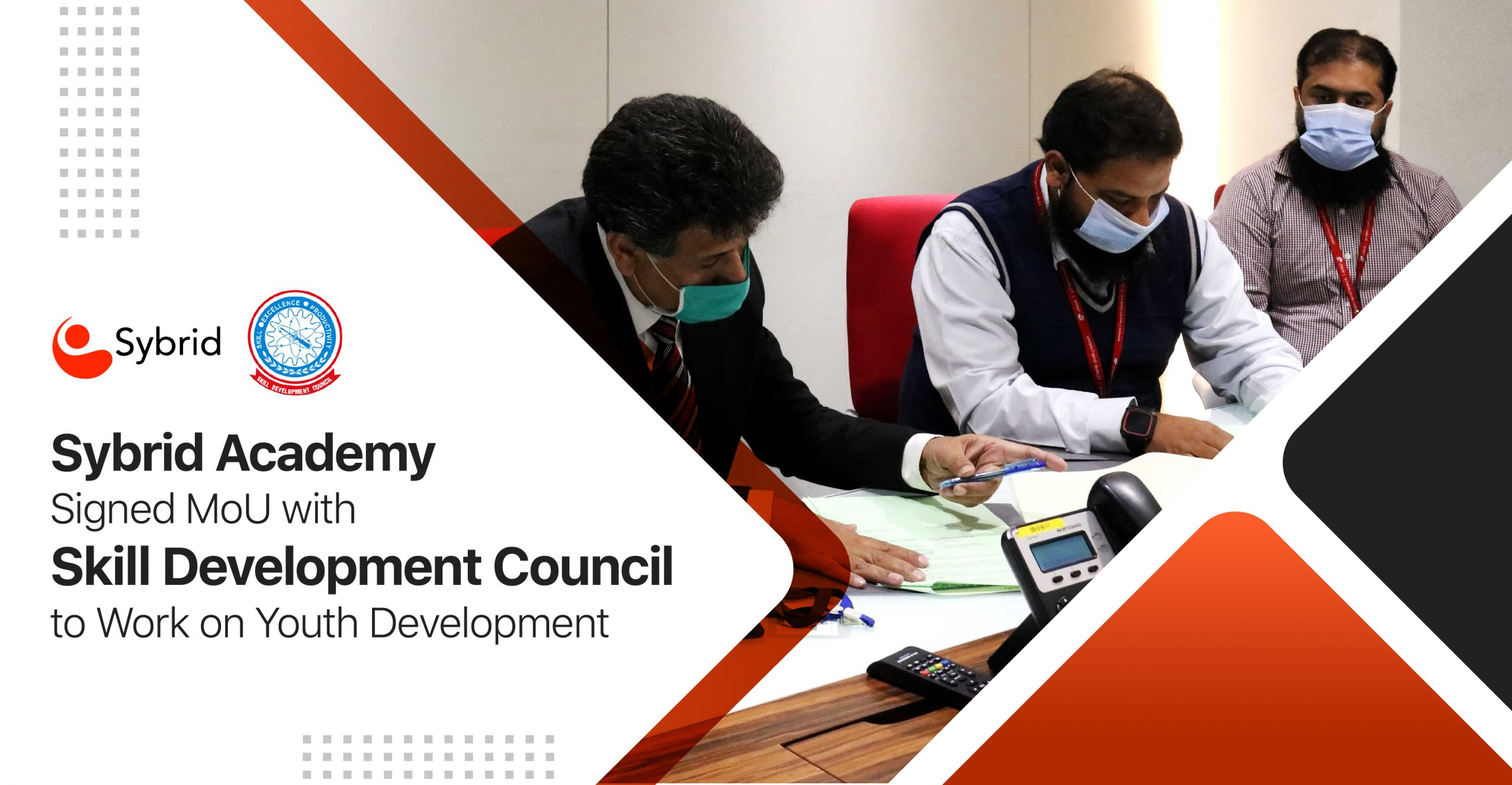 Sybrid Academy Signed MoU with Skill Development Council to Work on Youth Development